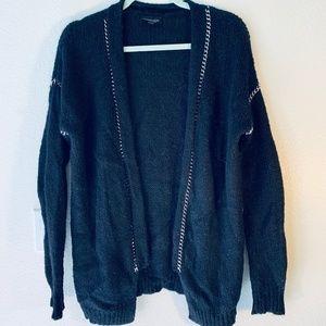 Chain Cardigan Sweater Top Shop